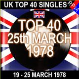 UK TOP 40 19-25 MARCH 1978