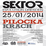 Human Like Machines (Live PA) @ 10 Jahre HLM - Sektor Evolution Dresden - 25.01.2014