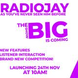 RadioJays BIG SHOW launches on Simulator Radio 24/11/2018!