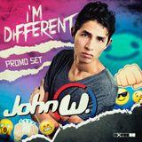 John W - I'm Different (Promo SET)