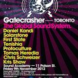 Tenishia - Live @ Gatecrasher (Toronto, Canada) - 09.11.2012