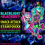 SNACK ATTACK - Live at Blacklight Blackout @ Exit in Chicago, IL, 06.15.18