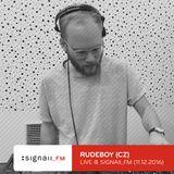 Rudeboy - Live @ SIGNAll_FM (11.12.2016)