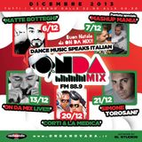 Dj Set Radio Onda Novara-ON DA MIX by Rosario Marafini DeeJay