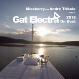 Missberry b2b André Tribale @ Gat Electra On Boat 2018 part 1