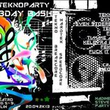 Crille Trostlos & Zerstörer a.k.a. Synapsenkiller@Freetekno NFS B-Day Bash session - Kili Club_Berli