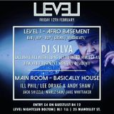 DJ SILVA LIVE SET IN THE AFRO BASEMENT ROOM @ LEVELS BOLTON DISK 2