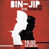 Fishman - Promo mix for BIN-JIP live@ The shelter 03.19.2015