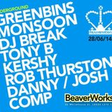 Greenbins - Rejuvenation, Leeds (Breaks Room) 28 June 2014