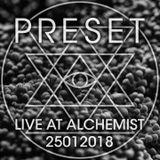 Live at Alchemist 25012018