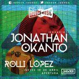 Jonathan Okanto @ HOUSE OF MUSIC (Santa Fe) 10-04-2014