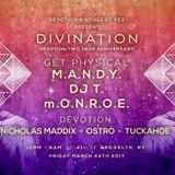 M.A.N.D.Y. - Live @ Dévotion 2 Year Brooklyn (New York, USA) - 24.03.2017