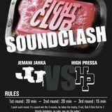 Fight Club Soundclash @Vinyl Club, Lausanne Switzerland, January 2014