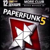 Paperfunk 5 Years Promo Mix by Krizzz
