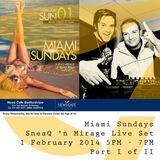 Mirage n SneaQ Miami Sundays 2014.02.02   Part 1