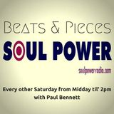 Beats & Pieces on SoulPower Radio 11th August 2018