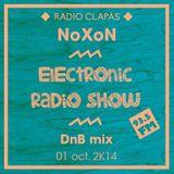 Electronic Radio Show @ Clapas (93.5 FM - Mtp) // 01.10.2K14