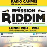 Émission Riddim 24 Octobre 2016
