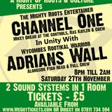 Channel One meets Adrians Wall 27/10/10 High Wycombe - Promo Mix