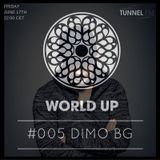 DiMO BG - World Up Radio Show #005 (June 17th 2016)