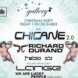 Chicane - Live @ The Gallery Christmas Party, MOS (London) - 13.12.2013