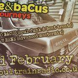 René & Bacus - Deep Journeys Pt 6-Soultrain Radio LIVE ON AIR-22th FEB 2017 - Soul, Funk, House