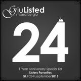 GiuListed #024 (1 Year Anniversary Special List)