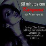 60 minutos con  KARYMME Entrevista (Voces y Letras, Sincelejo, Sucre).