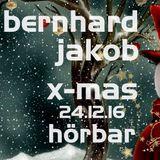 "Bernhard Jakob - ""x-mas""  Hörbar-Mindelheim, 24.12.2016"