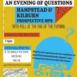 South Kilburn General Election Hustings May 31st 2017 Live at The Granville