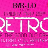 dj Semmer @ Club Bar Lo - retro 20-05-2016