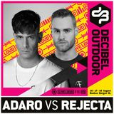 Adaro vs. Rejecta @ Decibel outdoor 2019 - Mainstage - Friday