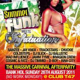 The OFFICIAL Carnival Season Mix CD for 2011 - Summer Funk meets Infatuation