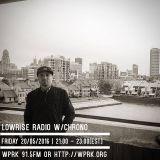 LowRise Radio w/Chrono 20/05/2016