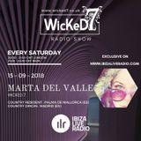 """""""CINNAMON' Marta Del Valle@Ibiza Live Radio_wicked7"""