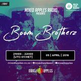 Mixed Apples Radio Show 047 - Ibiza Live Radio - mixed by Boom Brotherz (Johannesburg, ZA)