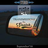Transmissions @ Pepper 96.6 (September '16) by DJ Snatch