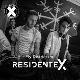 DJ Set Fly District Residente X