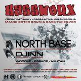 BASSWORX ft. North Base - Woodle B2B Espace - July 2015