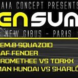 Man Hundaï & Sharlô - Prog @ Gibus Club-Alien Summer 01.08.2014