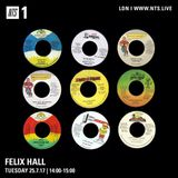 Felix Hall - 25th July 2017