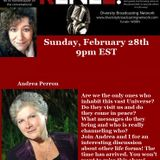 """Renee """"LIVE"""" With Special Guest Andrea Perron February 28th 2016"""