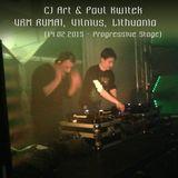 CJ Art & Paul Kwitek B2B set - VRM Rumai (Progressive Stage) Vilnius Lithuania [14.02.2015]