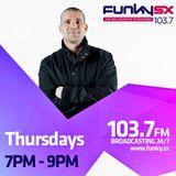 Radio Show - Funky SX - DJ Richie Don - 16.3.17