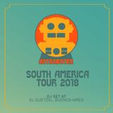 Astroboter - South America Tour 2018 - El Quetzal DJ Set
