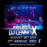 DJLENNOXNYC PROMO BBQ MIX AUGUST 24 2013