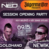 2012.09.15. newik live @ club neo session opening