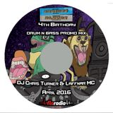 Serious Blendz 4th Birthday Promo Mix, April 2016 - DJ Chris Turner & Laffnar MC