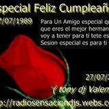Sensation happy Birthday buddy 27/07/2012 CD 1