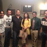 MOAMMAR RANA,MAWRA, HAIDER SULTAN & SURAJ BABA'S CHAT WITH DR JAZI ON SHOOT OF EID PLAY